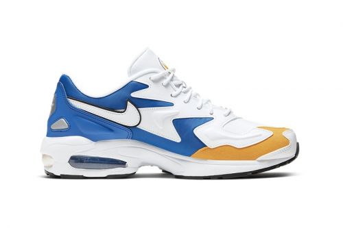 Nike Dresses the Air Max2 Light Premium in Golden State Warriors Colors