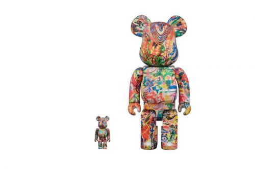 """A Closer Look at Ryan McGinness's """"Warhol Flower Icons"""" BE RBRICK"""