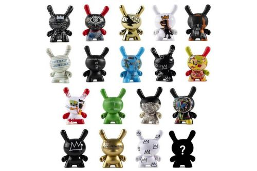 Kidrobot Releases a Jean-Michel Basquiat Dunny Collection