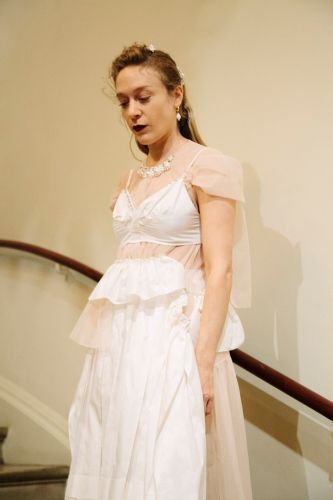 Chloë Sevigny Walks in Simone Rocha's London Fashion Week Show