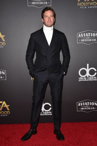 Armie Hammer Makes a Case for the Turtleneck & Suit