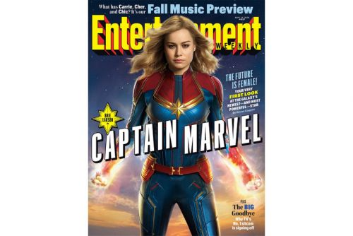 A First Official Look at Brie Larson In 'Captain Marvel'
