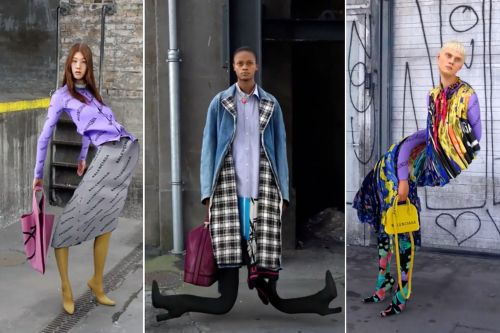 Balenciaga is freaking out fashionistas with 'sinful' videos