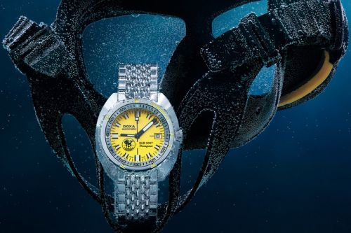 "DOXA Launches Exclusive Sub 300T ""Poseidon"" Edition"