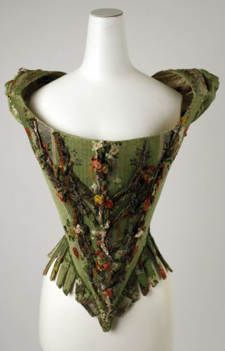 Fashionsfromhistory: Bodice 18th Century The MET