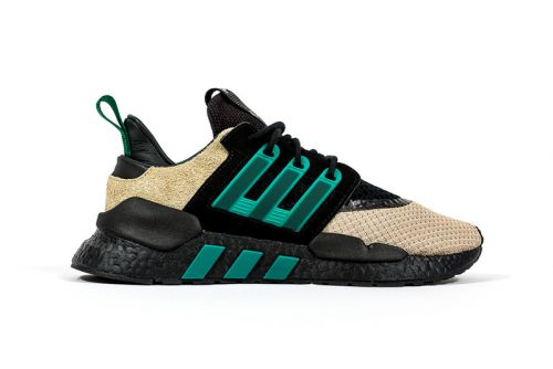 Adidas Consortium & Packer Shoes Wrap EQT 91/18 in Outdoors-Ready Colorway