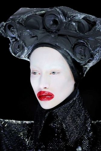 Looking back at Alexander McQueen's otherworldly clowns of AW09