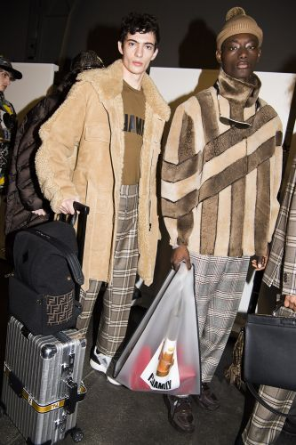 Fendi: Menswear AW18