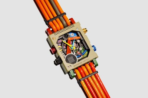 "Vollebak Creates ""Garbage"" Watch Out of Electronic Waste"