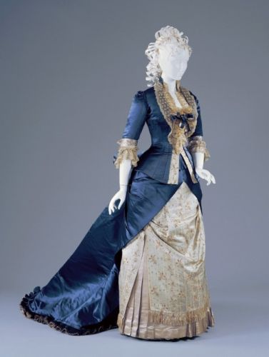 Fashionsfromhistory: Reception Dress Charles Frederick