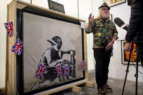 Ron English Plans to Whitewash $730k USD Banksy Artwork