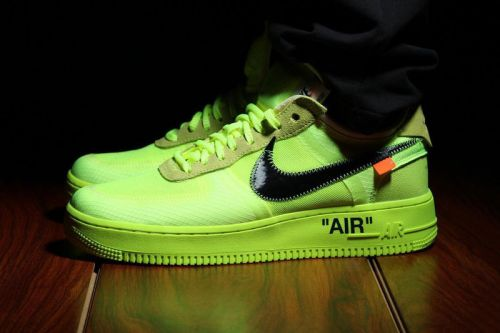 "Off-White™ x Nike Air Force 1 ""Volt"" May Be Incoming"