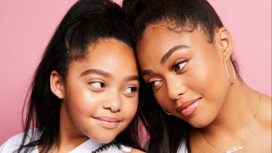 Jordyn Woods Reveals Her ~Twin~ Little Sis Jodie Can 'Unlock' Her iPhone With Her Face. Yeah, You Read That Right
