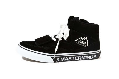 MASTERMIND x Vans Mountain Edition Is Back in Black