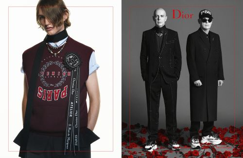 Just In: The New Dior Homme Campaign Stars The Pet Shop Boys
