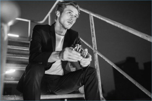 Jules Raynal Fronts s.Oliver Black Label Fragrance Campaign