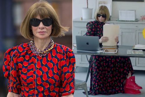 Anna Wintour collaborates with Nike on chic Air Jordan styles