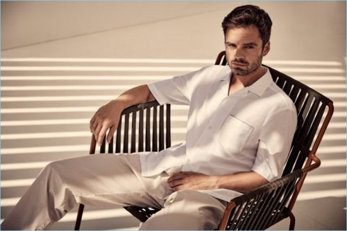 Sebastian Stan Embraces 'Summer of Ease' for BOSS Campaign