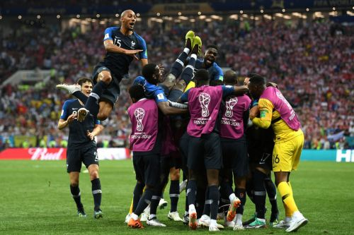 France Defeats Croatia to Win the FIFA World Cup 2018