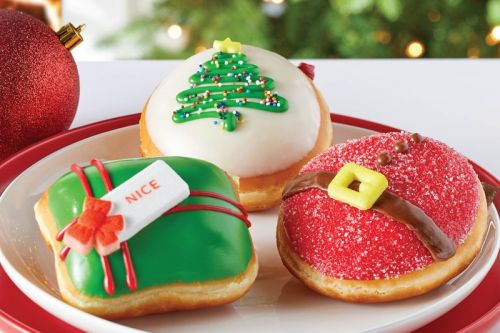 Krispy Kreme Readies for X-Mas With a Trio of Holiday Donuts