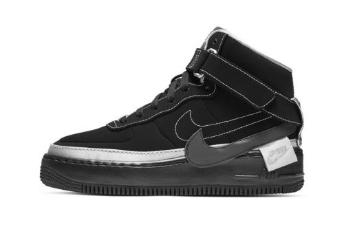 Nike's Air Force 1 Jester High Mixes Deconstructed Elements With Silver Accents