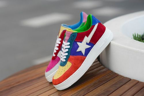 BespokeIND Patches Custom Nike Air Force 1 With Classic Swoosh Renditions