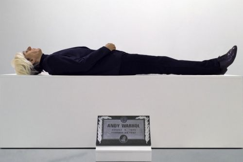 Artist Eugenio Merino Creates Life-Sized Sculpture of Andy Warhol's Corpse