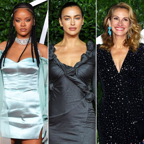 Rihanna, Irina Shayk, Julia Roberts and More Dazzle on the British Fashion Awards Red Carpet