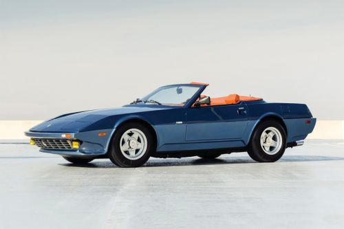 Ultra Rare 1971 Ferrari 365 GTB/4 Daytona NART Spider Is up for Auction