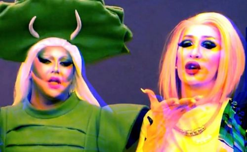 Watch Drag Race queens from the US and Thailand unite in a crossover track