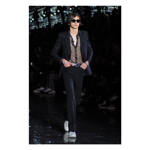 Saint Laurent: Menswear Spring/ Summer 2019