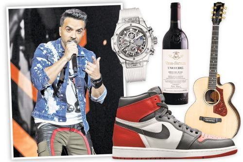 'Despacito' singer Luis Fonsi on the 12 things that keep him in the fast lane