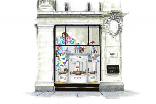 Fendi To Pop-Up At Selfridges Corner Shop