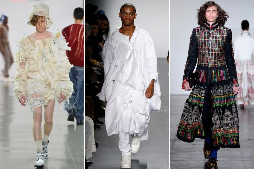 Dresses for dudes are the next big fashion trend