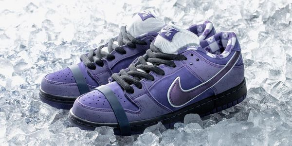 "Someone Paid $10,000 USD for Concepts x Nike SB Dunk Low ""Purple Lobster"""