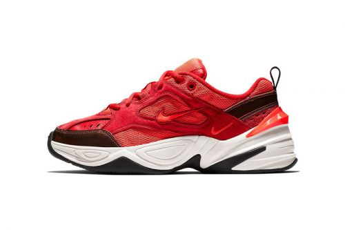 Nike's M2K Tekno Welcomes Red Suede For Upcoming Drop