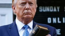 'Revolting': Trump Gets Holy Hell On Twitter For Using Bible As Photo-Op Prop
