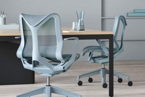 Herman Miller Looks to Reimagine Modern Workplace Seating With New Cosm Chair