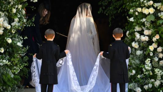 Meghan Markle Wears Elegant, Simple Givenchy to Marry Prince Harry