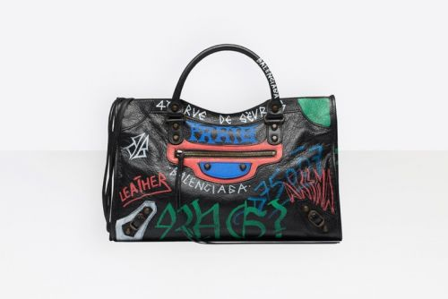 "Balenciaga Goes Grunge for ""Graffiti"" Luggage Collection"