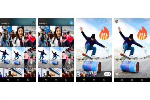 Instagram Stories Now Allows Sharing of Multiple Photos & Videos at Once on Android