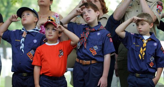 The Boy Scouts announced on Wednesday, Oct.
