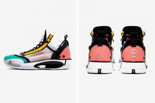 Chinese Basketball Star Guo Ailun Receives Comic-Inspired Air Jordan 34 PE