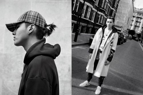 Kris Wu & Burberry Reveal Winter Collection 2017