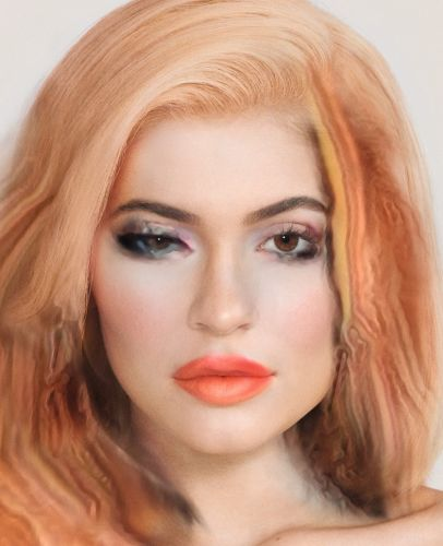 What happens when a beauty AI does Kylie Jenner's make-up