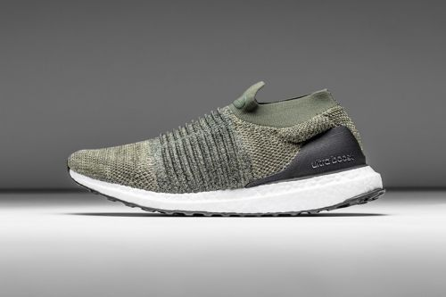 Adidas Unveils an Olive UltraBOOST Laceless