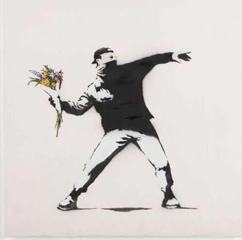 Banksy is at risk of losing the rights to his work because he's anonymous
