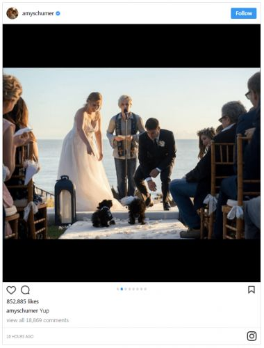 Amy Schumer Got Married And The Pics Are Adorable AF