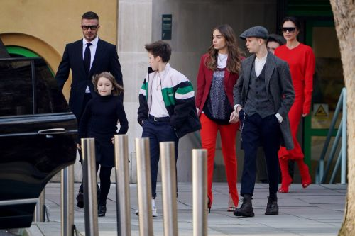 The Entire Beckham Family Makes Rare Appearance Together at Victoria's LFW Runway Show