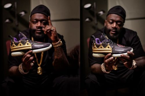 Rick Ross Partners With Li-Ning For Special Way of Wade 7 & Essence Ace